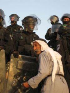 הפינוי בכפר אל-עראקיב. צילום: אתר פורום דו-קיום בנגב