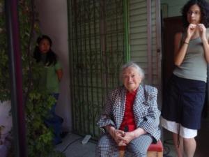 רות לוביץ', אוקטובר 2007. צילום: עד ראייה, הבלוג של העיתונאי יגאל סרנה