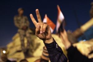 : מהפכות מתרחשות כשתמה יכולת העם להכיל את הניצול והדיכוי המעמדיים של המשטר. המהפכה במצרים. צילום אילוסטרציה