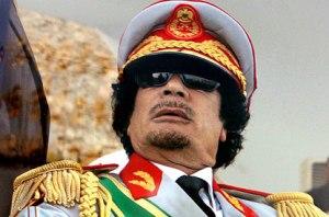 """מנהיג """"המהפכה הערבית"""". מועמר קדאפי"""