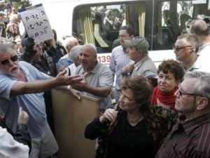 הכרזת העצמאות הפלשתינית בשדרות רוטשילד. צילום: פלאש 90