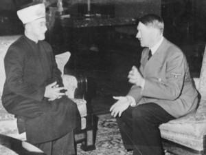 """""""יחי חאג' מחמד היטלר!"""". חאג' אמין אל-חוסייני בפגישה עם אדולף היטלר"""