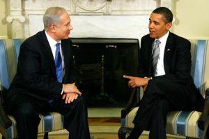 אובמה ונתניהו בפגישתם בבית הלבן