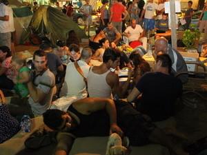 מחאת הדיור בשדרות רוטשילד. צילום: אמיר מאירי