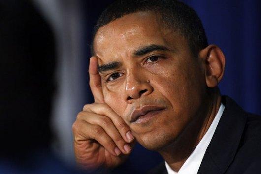 מוקף בחבורת רדיקלים. הנשיא אובמה