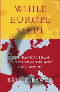 """דמיון לאירופה. עטיפת הספר """"כשאירופה נרדמה""""."""