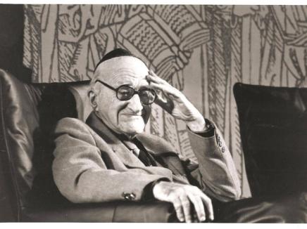 לא הבינו אותו. ישעיהו ליבוביץ. צילום מתוך הסרט.