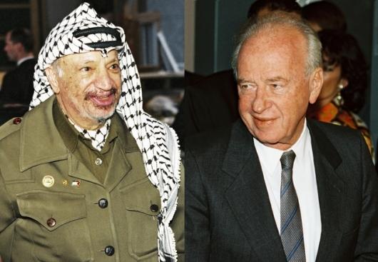 חיסול התנועה הלאומית הפלסטינית. רבין וערפאת.