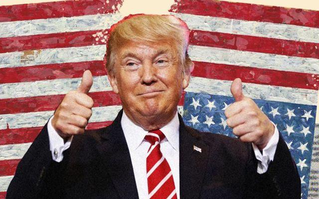 חיסל את פרדיגמת שתי המדינות. טראמפ